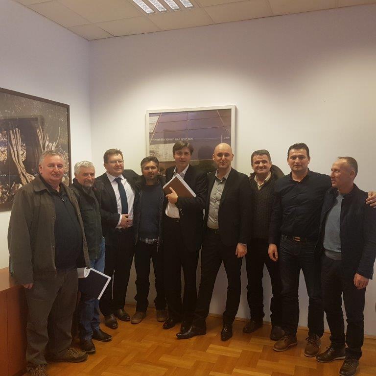 Upravni odbor kod ministra Tolušića