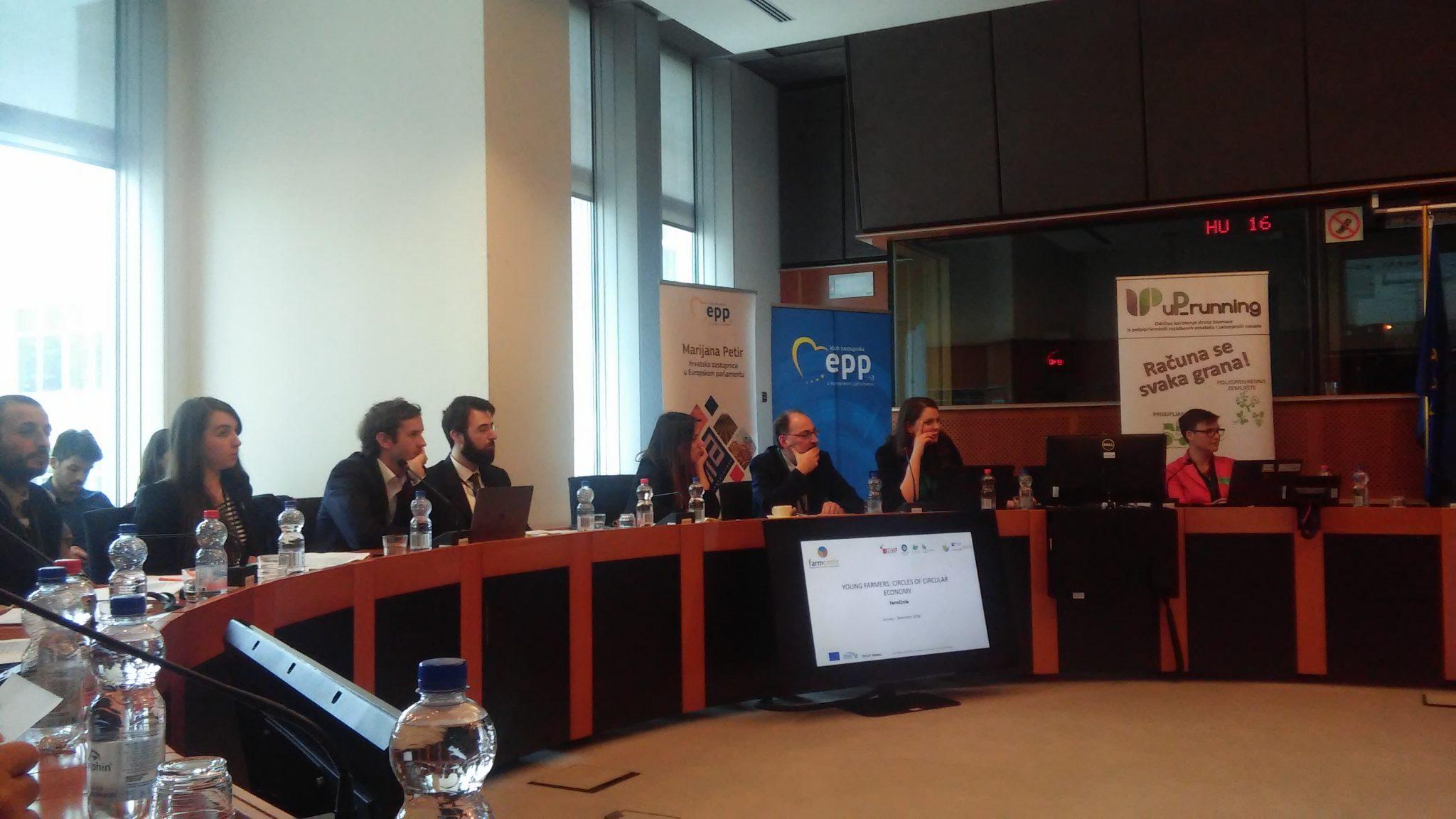 Održana uP_running radionica u Europskom parlamentu