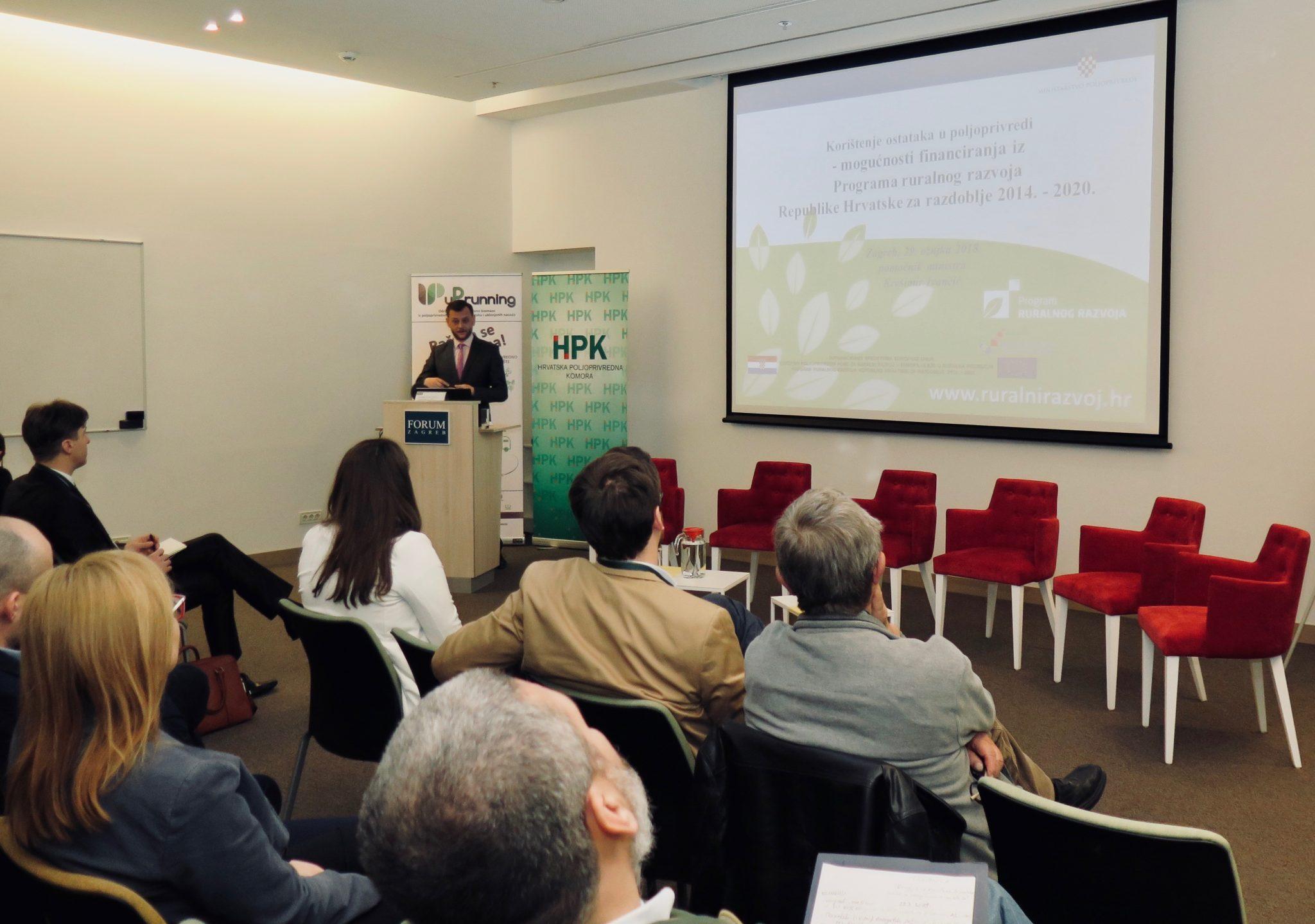 HPK okupila stručnjake s ciljem većeg korištenja rezidbenih ostatak u poljoprivredi