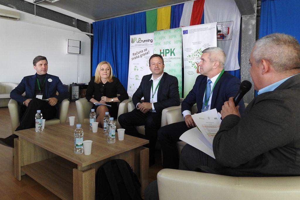 """Priopćenje Konferencija """"Inovativna i održiva Zajednička poljoprivredna politika"""" u sklopu projekta """"CAP FOR YOU"""""""