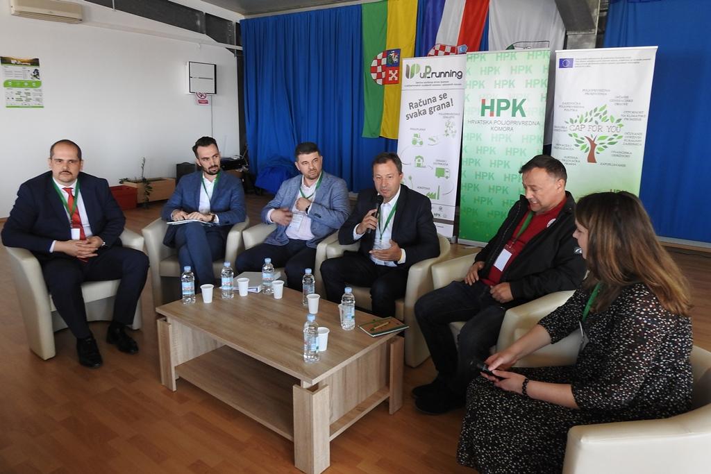 """Priopćenje Konferencija """"Inovativna i održiva Zajednička poljoprivredna politika"""" u sklopu projekta uP_running"""