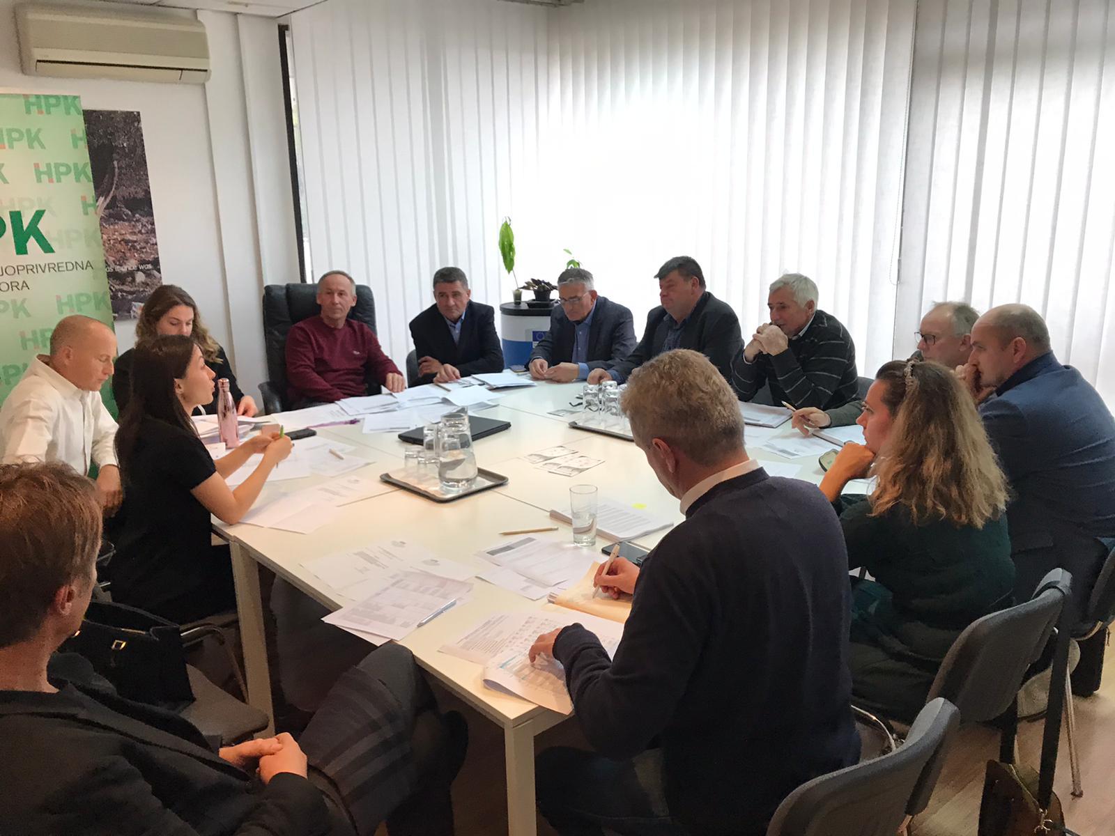 Sastanak vezan uz sektorske intervencije Strateškog plana ZPP-a