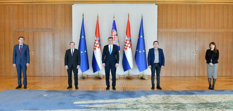 Predsjednik Komore kod predsjednika Milanovića