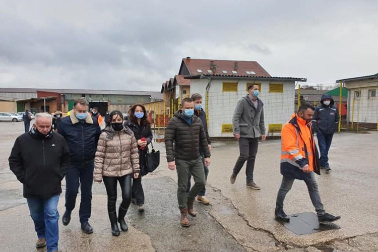 Ministrica Vučković posjetila Petrinju